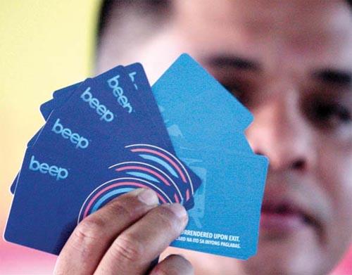 MRT Beep Cards