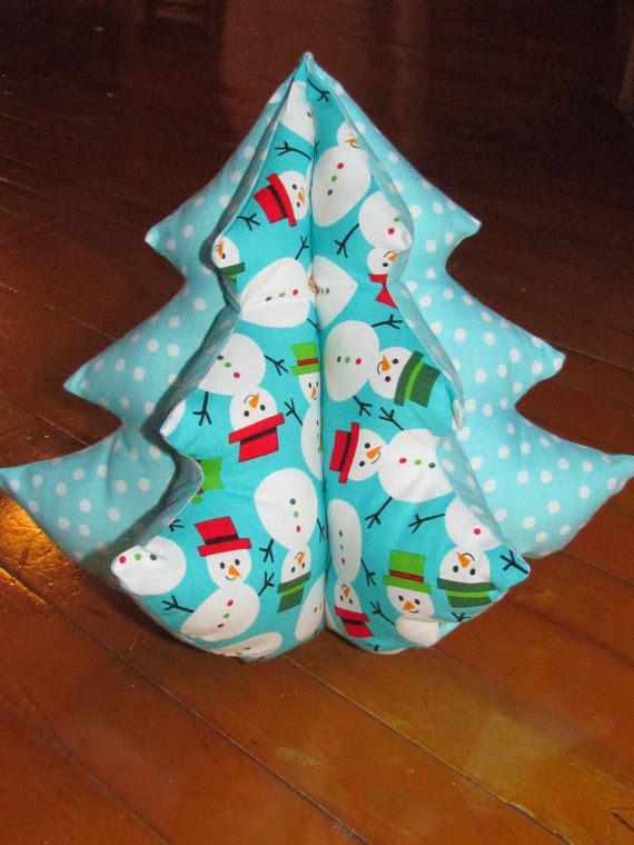 Christmas Sewing Projects - Christmas Trees : Behind Mytutorlist.com