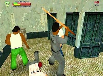 narapidana berkelahi Hard Time 1.44