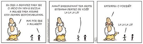 Tirinhas da Luna #42: 'Grande responsabilidade' | Ordem da Fênix Brasileira