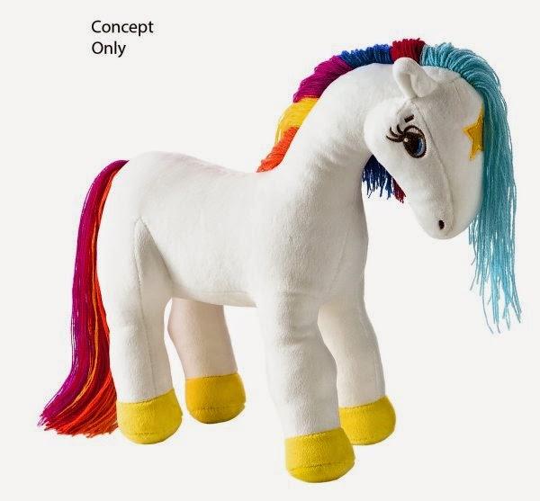 New Rainbow Brite Starlite Plush Doll from Hallmark