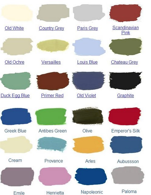 Annie Sloan Chalk Paint Canada Colour