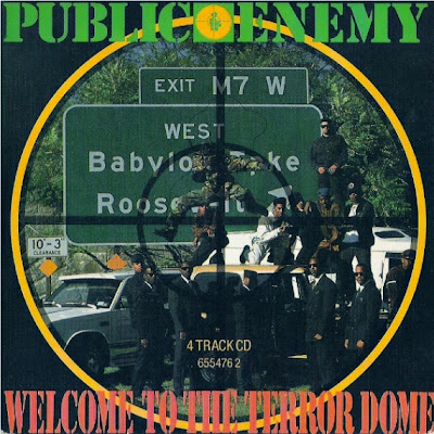 Public Enemy – Welcome To The Terrordome (4-Track CDS) (1989) (320 kbps)