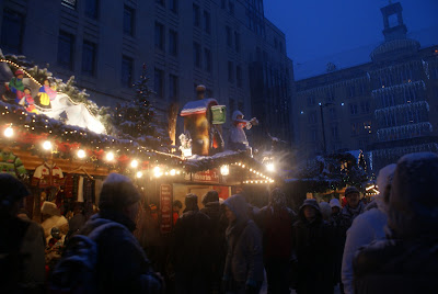 Crowds Christmas Market