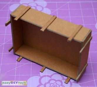 crafts paper cart