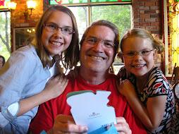 The Girls LOVE their Grampy!