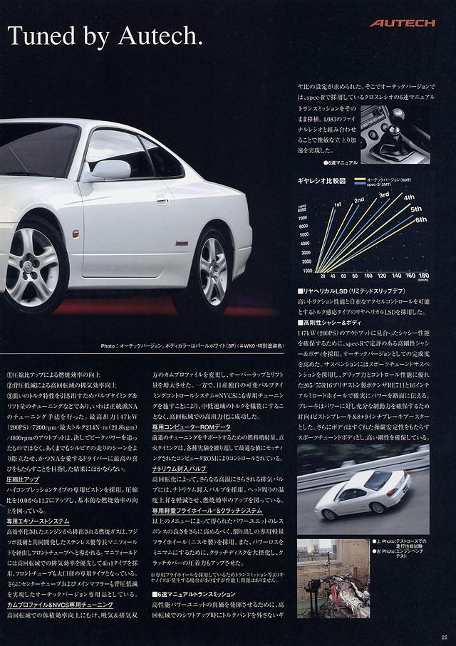 Nissan Silvia S15, Autech Version, JDM, SR20DE