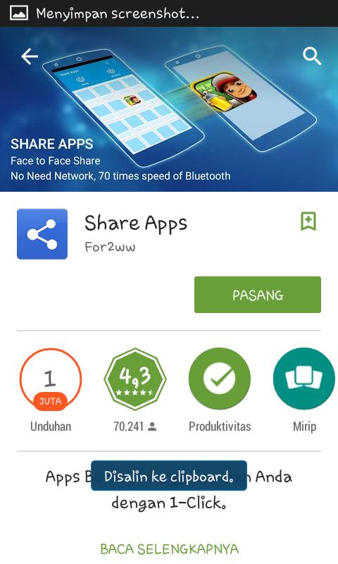 cara mengirim aplikasi android tanpa root