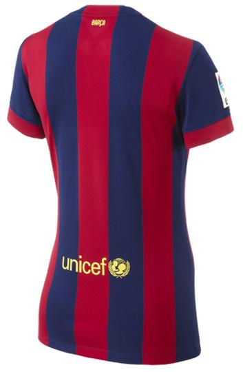 Barcelona 14-15 Women's Home Soccer Jersey