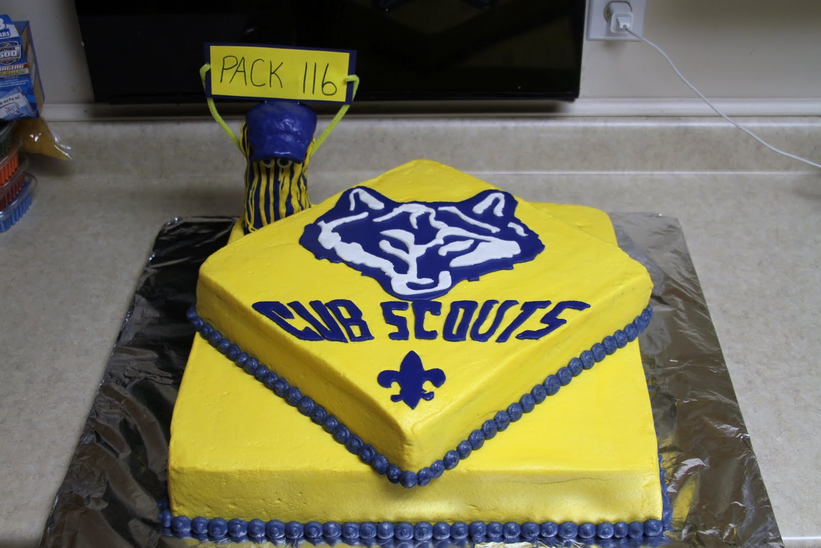 Tiger Cub Cake Ideas