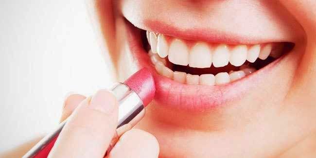 cara+memakai+lipstik