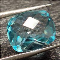 Batu Permata Blue Topaz