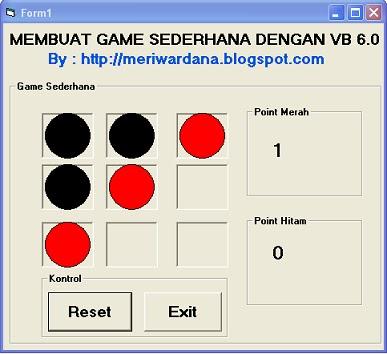 Gambar Tutorial Membuat Game Sederhana dengan VB