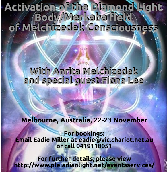Diamond Lightbody Activation Flyer