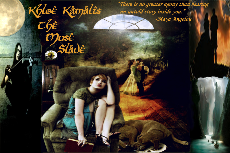 KHLOE KAMALIS ~ THE MUSE SLAVE