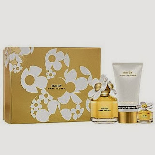 Marc Jacobs Daisy Gift Set 3 Pcs. [3.4 oz. Eau De Parfum Spray + 5.1 Oz. Luminous Body Lotion + 0.10 Oz Edt Splash] Women