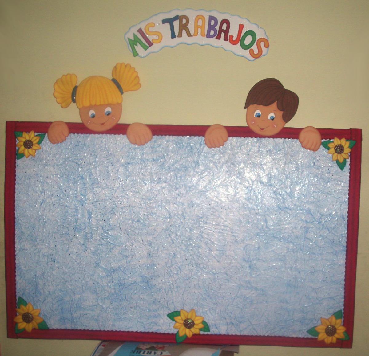 Carteleras decoradas en foami - Imagui