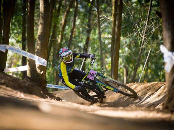 Casey Brown for Bergamont Hayes Components Factory Team
