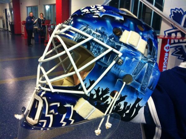 I Love Goalies!: Ben Scrivens 2011-12 Mask