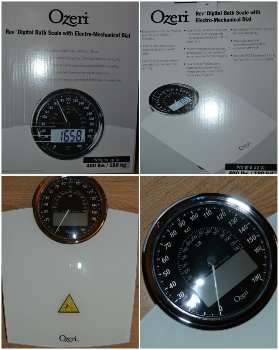 Ozeri Rev Digital Bathroom Scale review @ ups and downs, smiles and frowns.