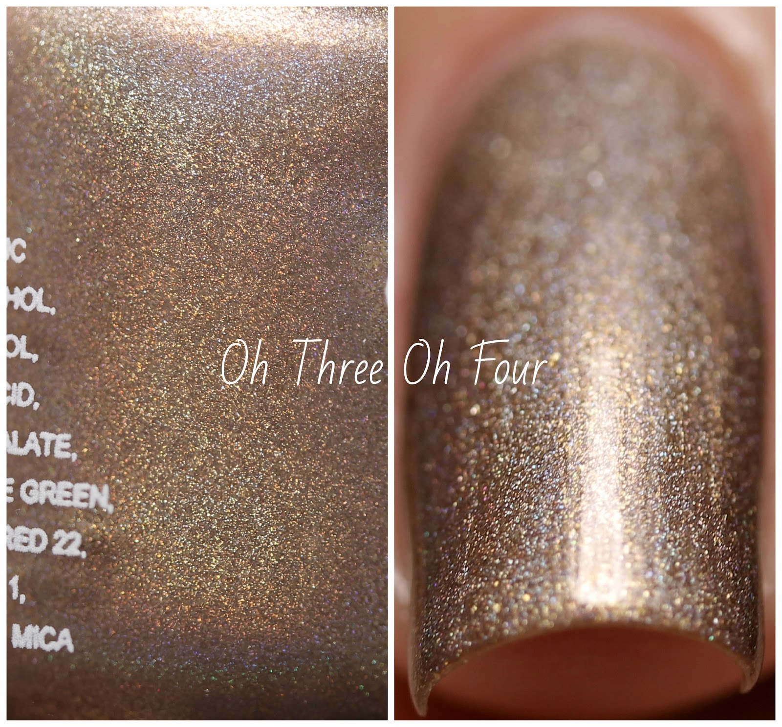 KBShimmer Big Tan On Campus Swatch