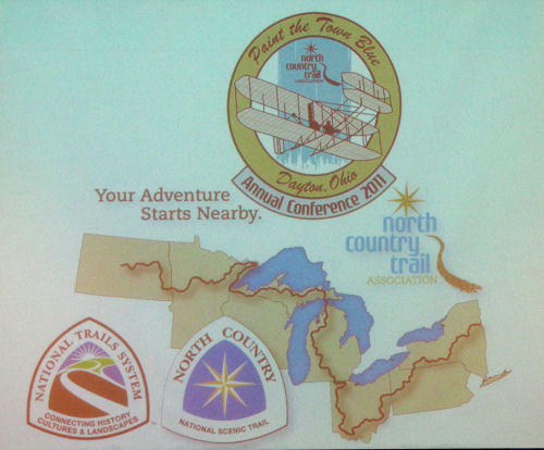 North Country Trail 2011 Dayton Conference logo