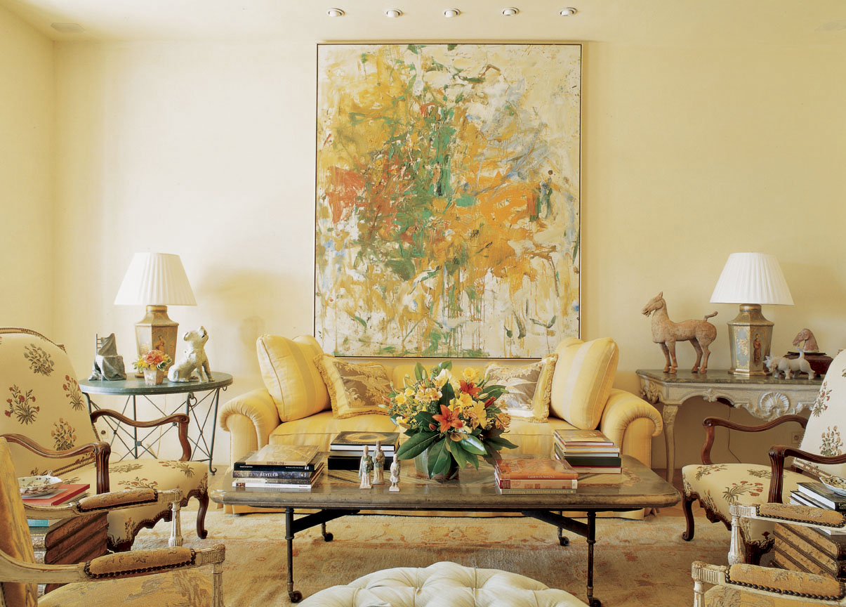 Hamptontoes special treat my q a with bunny williams - Images of living room paint colors ...