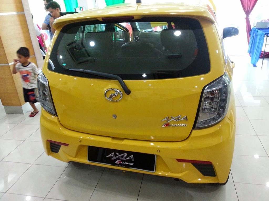 Asian Auto Digest The New 2014 Perodua Axia Interior