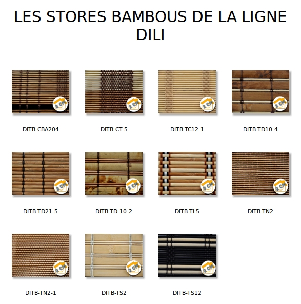 bien etre maison stores bambou dili. Black Bedroom Furniture Sets. Home Design Ideas