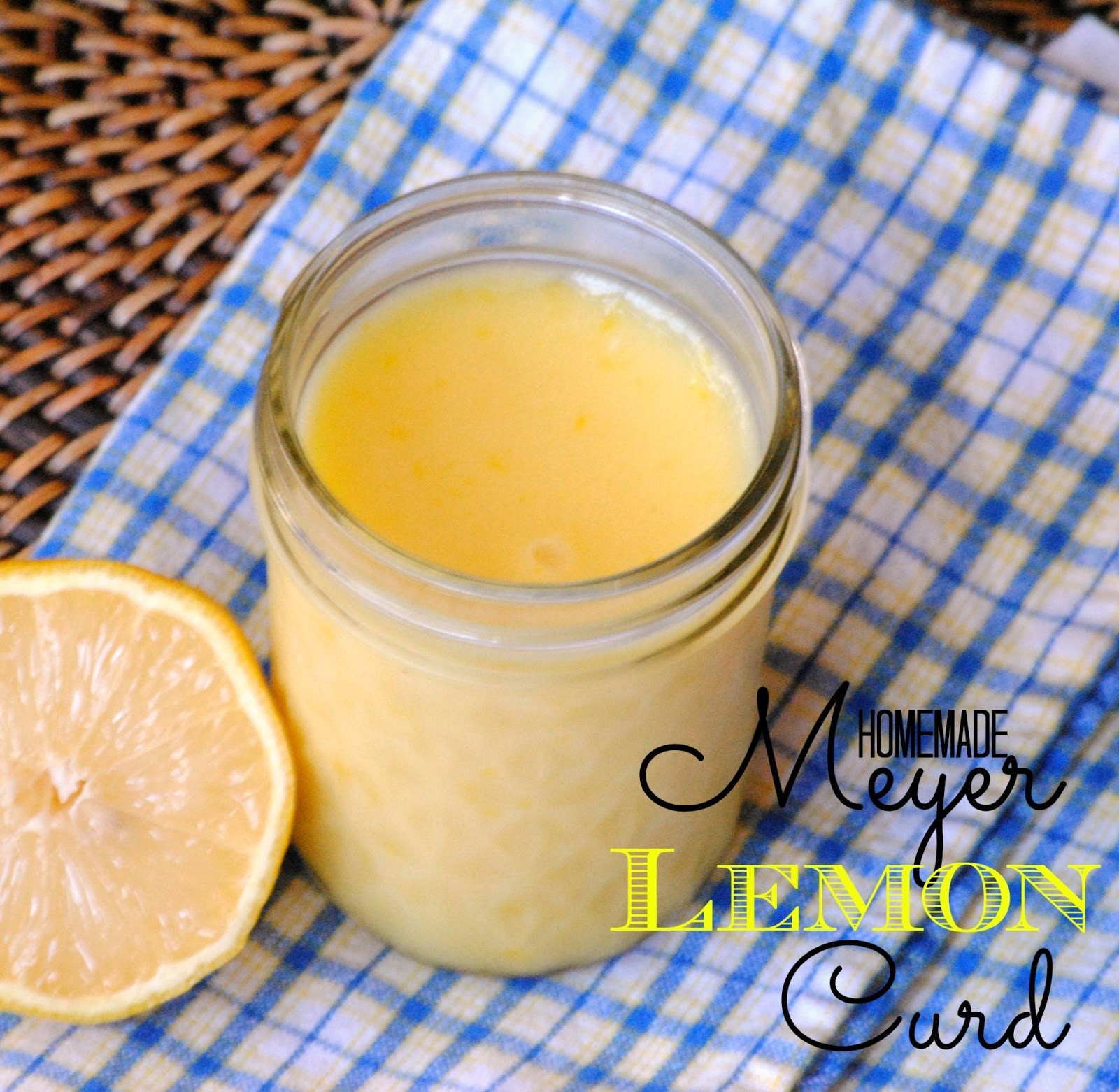 The Farm Girl Recipes: Homemade Meyer Lemon Curd