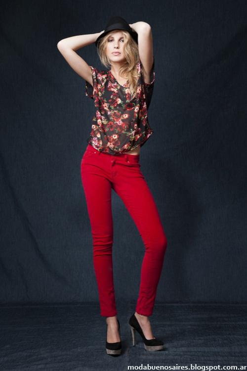 Pantalones chupines otoño invierno 2014.