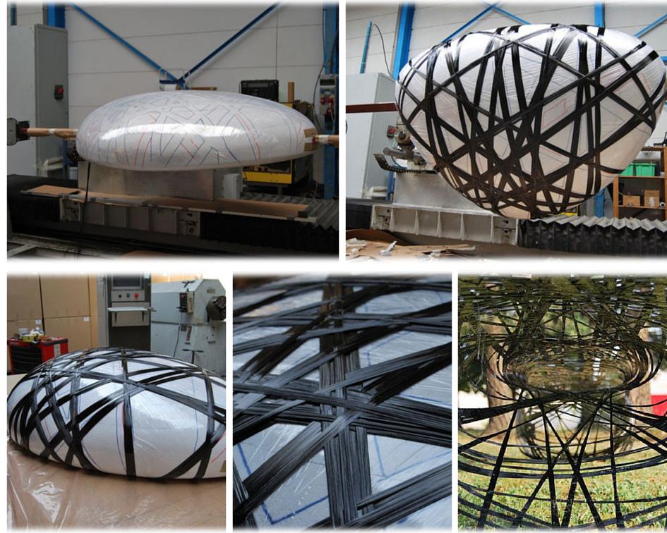 CFRP process, Filament Winding