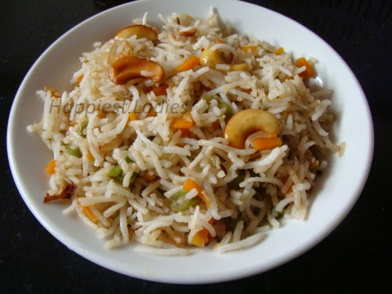 vegetable fried rice chinese recipe
