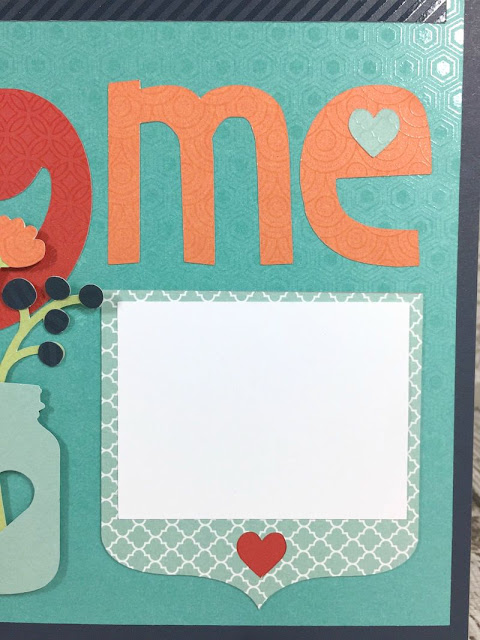 Cricut Artistry You & Me layout