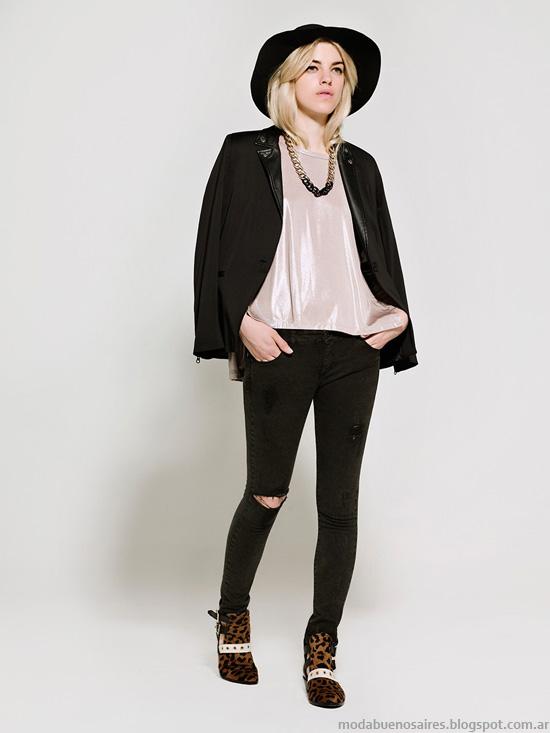 Kosiuko otoño invierno 2014 trajes de mujer moda 2014.