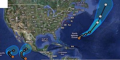 PHILIPPE heute wahrscheinlich Hurrikan, IRWIN & JOVA im Pazifik unterwegs - einer von beiden bedroht Mexiko als Hurrikan, Philippe, Irwin, Jova, Atlantik, Pazifik, Mexiko, aktuell, Oktober, 2011, Hurrikansaison 2011,