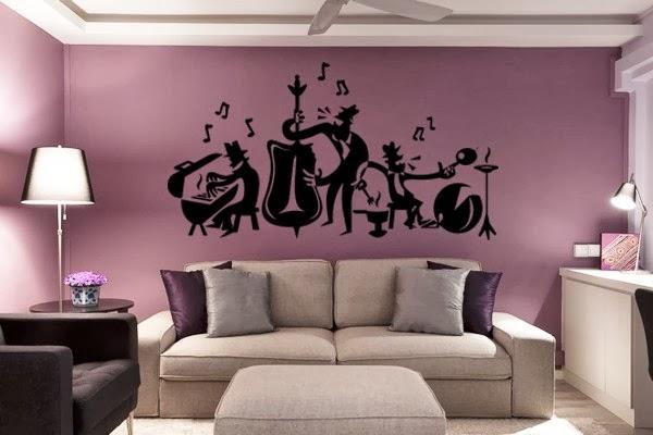 decoracao de sala lilas: : Ideias para Decorar a sua Sala de Estar em tons de Lilás/Roxo