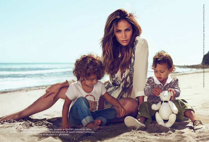 StyLe MiRoiR: Jennifer Lopez: Children Gucci Collection