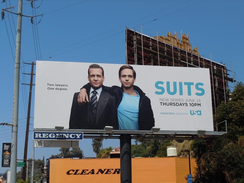 Suits TV billboard