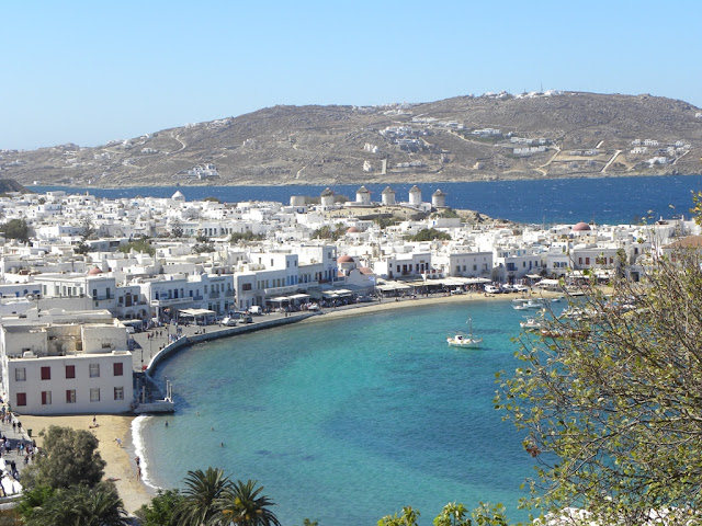Chora Mykonos Greece