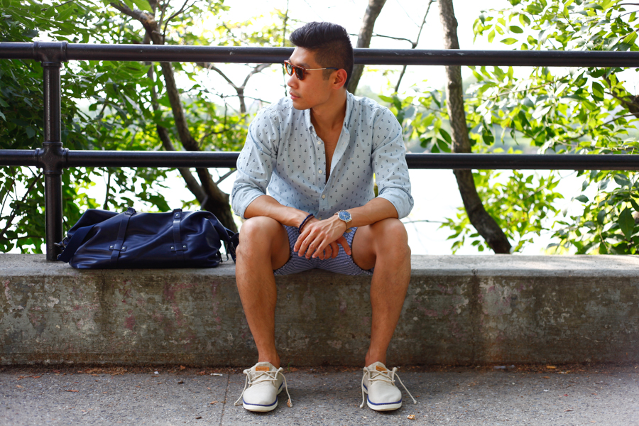 Levitate Style x JcPenney Collaboration | Summer Style Looks with Dockers, Skagen Watch, Timerland Shoes, TOMS sunglasses