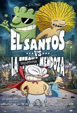 El Santos Vs La Tetona Mendoza [2012] [Dvdrip] [Español Latino]