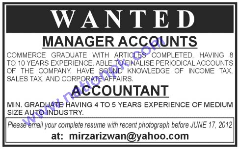 Accountant Wanted1