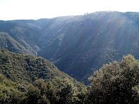 Vistes de la Vall de la riera de la Figuera i els Fonmdrats