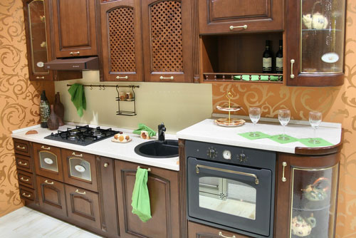 Home Designing: Small Kitchen Design