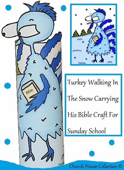 Church house collection blog a cold walk but worth it for Thanksgiving sunday school crafts