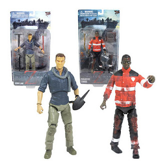 "Jazwares Inc 6"" World War Z Figures"