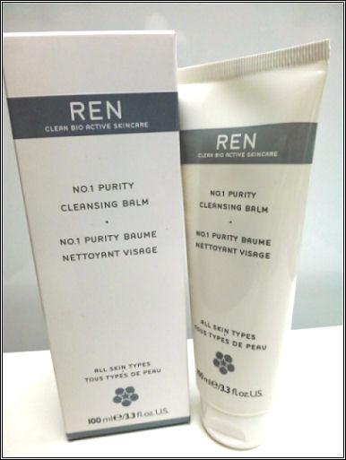 REN's No.1 Purity Cleansing Balm