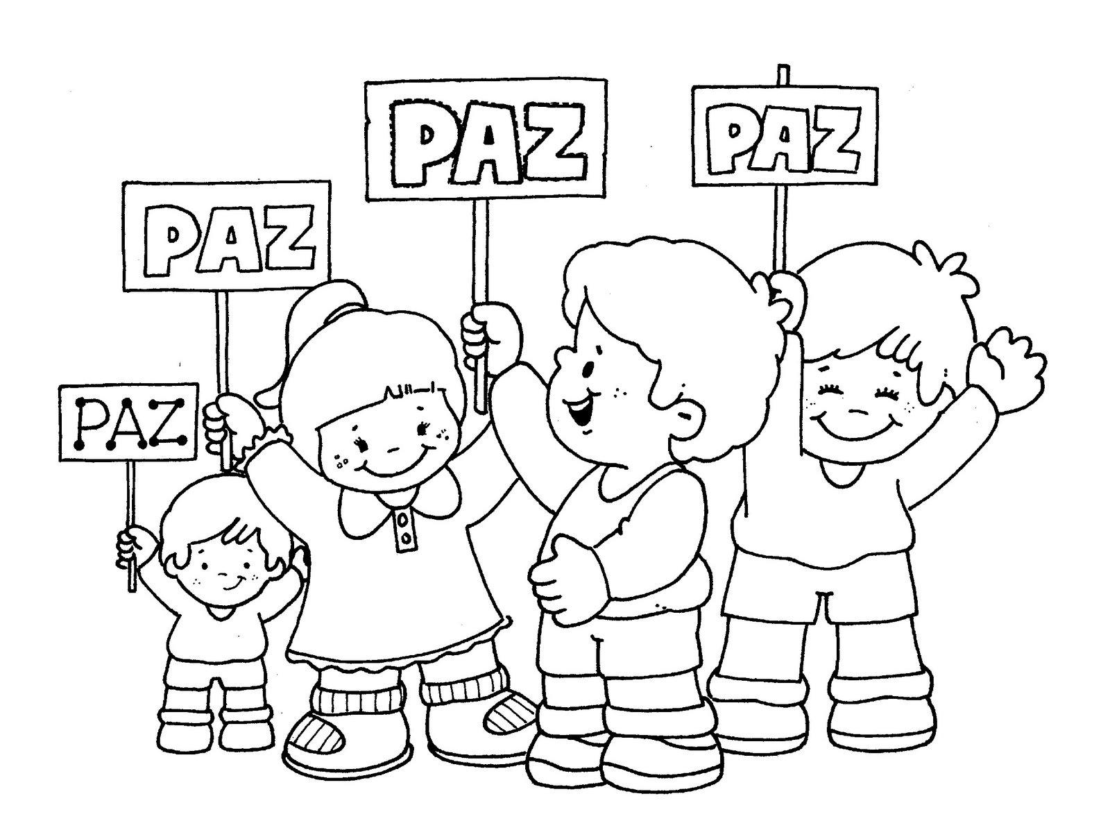 DIBUJOS DE LA PAZ PARA IMPRIMIR Y PINTAR. | Blog 1r Ciclo.