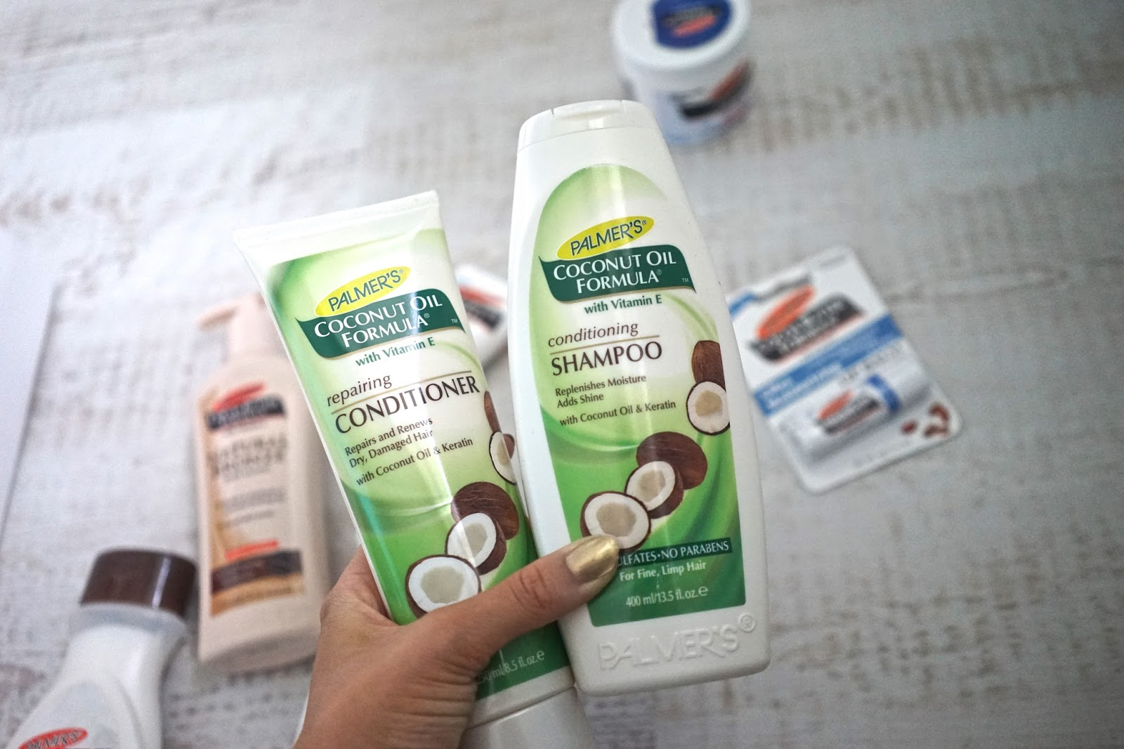 Palmer's cocoa butter for hair
